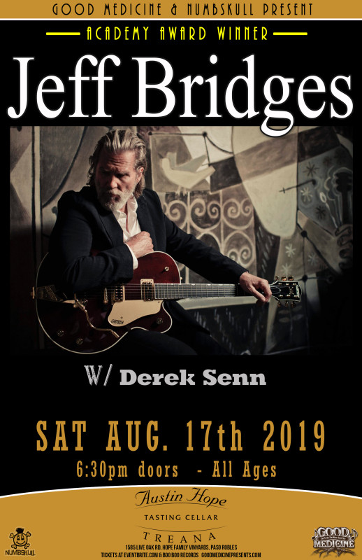 Jeff Bridges – SOLD OUT « Good Medicine Presents